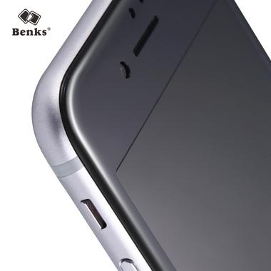 Benks Защитное стекло на iPhone 6 Plus   6S Plus черная рамка KR+Pro 3D, фото №3