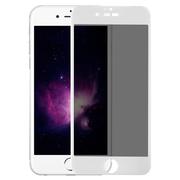Benks приватное затемняющее стекло для iPhone 6 6S 3D Белое