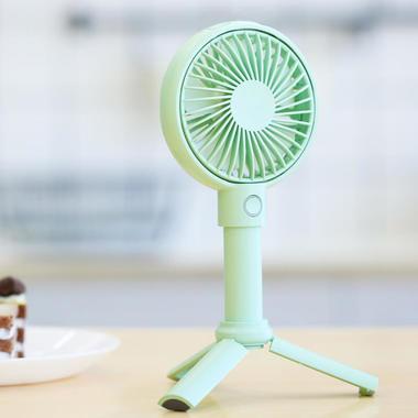 Benks портативный ручной вентилятор - бирюзовый, фото №1