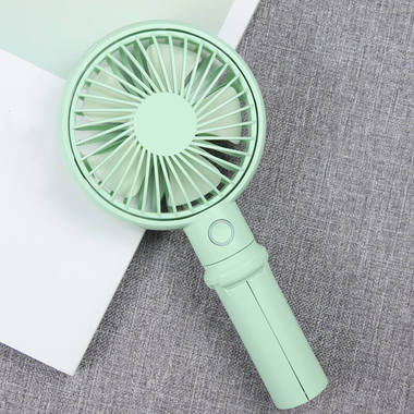 Benks портативный ручной вентилятор - бирюзовый, фото №3