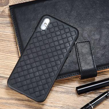 Benks чехол для iPhone XS Max серия Weaveit - черный, фото №2