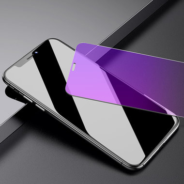 Benks OKR+ Защитное стекло для iPhone Xs Max/11 Pro Max - 0,3 мм Anti Blue (New), фото №5