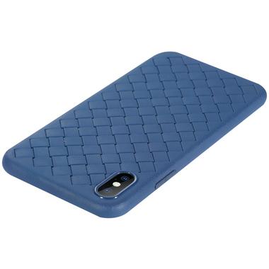 Benks чехол для iPhone X серия Weaveit - синий, фото №3