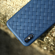 Benks чехол для iPhone X серия Weaveit - синий - фото 1
