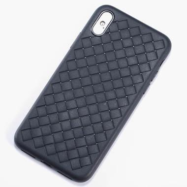 Benks чехол для iPhone XS Max серия Weaveit - черный, фото №1