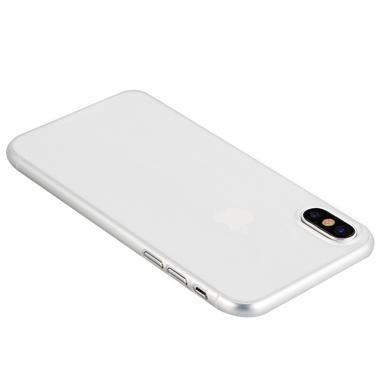 Benks Чехол для iPhone X LolliPop Белый матовый непрозрачный, фото №2