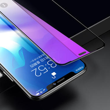 Benks защитное стекло для iPhone Xr/11 - Anti Blue XPro 3D 0,23 мм, фото №6