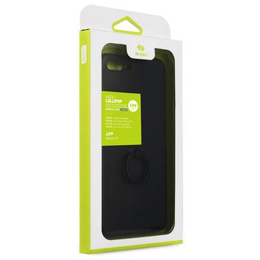 Чехол для iPhone 7/8 Plus с подставкой LolliPop Черный, фото №1