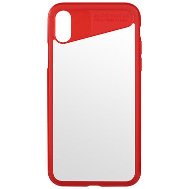Чехол для iPhone X - красный Mochi, фото №1