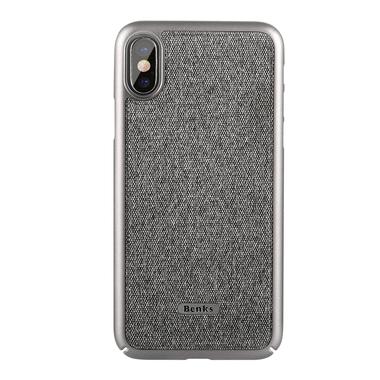 Benks Чехол для iPhone X серый Brownie, фото №1