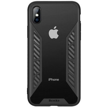 Benks Чехол для iPhone X - черный Future, фото №2