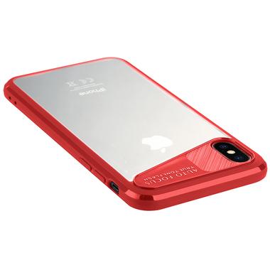 Чехол для iPhone X - красный Mochi, фото №2