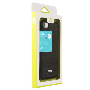 Benks чехол для iPhone 7   8 - черный Brownie, фото №1