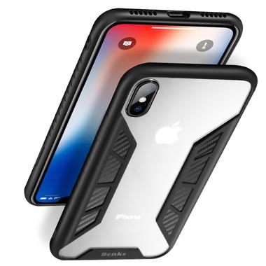 Benks Чехол для iPhone X - черный Future, фото №3