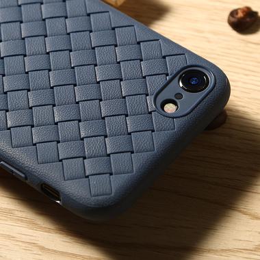 Benks чехол для iPhone 7/8 серия Weaveit - синий, фото №3