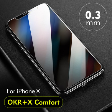 Benks OKR+ Comfort Защитное стекло для iPhone X/Xs/11 Pro - 0,3 мм, фото №10