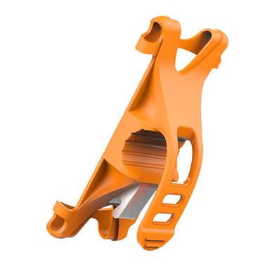 Держатель на руль велосипеда - оранжевый, фото №3