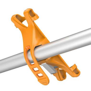Держатель на руль велосипеда - оранжевый, фото №1