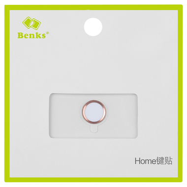 Защитная накладка на кнопку Home - Розовая, фото №1