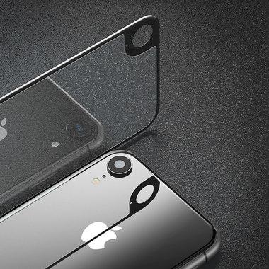 Защитное стекло на заднюю панель iPhone Xr - Gray, фото №3