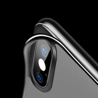 Benks защитное стекло для iPhone XS на заднюю панель - Gray, фото №4