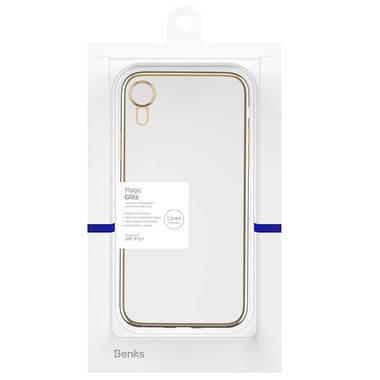 Чехол для iPhone XR Electroplating - золотой, фото №3