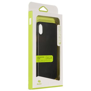 Benks Чехол для iPhone X LolliPop Черный матовый, фото №3