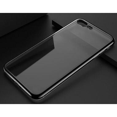 Чехол для iPhone 7 Plus Electroplating Черный, фото №1