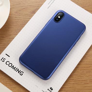 Benks чехол для iPhone X Синий Comfort, фото №1