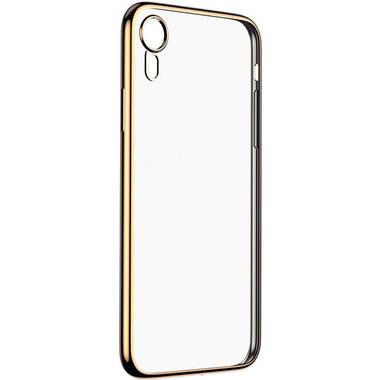 Чехол для iPhone XR Electroplating - золотой, фото №1