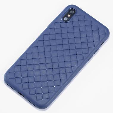 Benks чехол для iPhone XS Max серия Weaveit - синий, фото №1