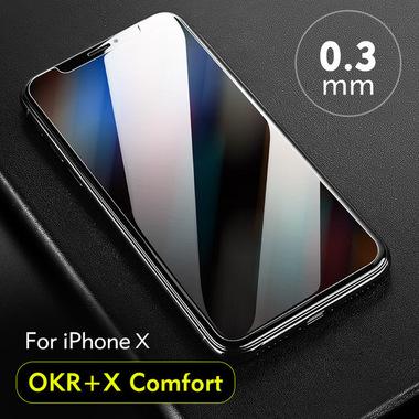 Benks OKR+ Anti Blue (New) Защитное стекло для iPhone X/Xs/11 Pro - 0,3 мм, фото №6