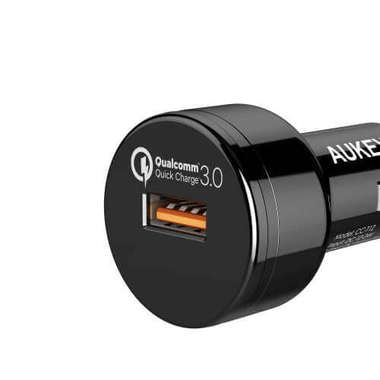Автомобильная зарядка телефона от прикуривателя QC 3.0, фото №2