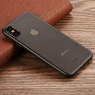 Benks Чехол для iPhone X LolliPop Черный прозрачный, фото №1