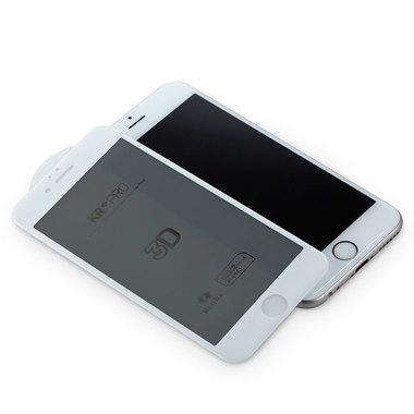 Benks Приватное затемняющее стекло для iPhone 6 Plus   6S Plus Белое 3D, фото №6