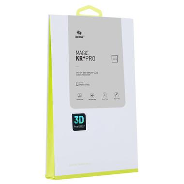 Benks 3D приватное защитное стекло для iPhone 7 Plus - белое, фото №7