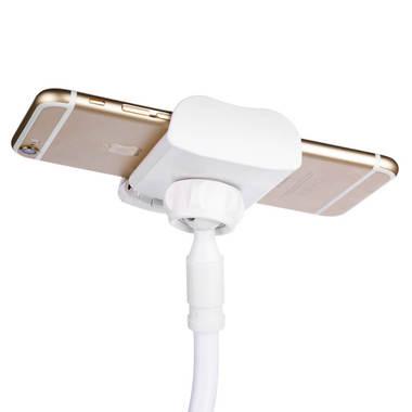 Гибкий универсальный металлический держатель для телефона (смартфона) на штанге 880 мм, 360°, фото №1
