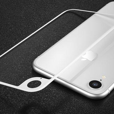 Защитное стекло на заднюю панель iPhone Xr - Silver, фото №4