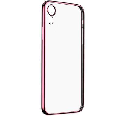 Чехол для iPhone XR Electroplating - розовое золото, фото №1