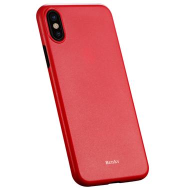 Benks Чехол для iPhone X LolliPop Красный, фото №3