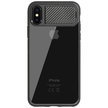 Benks чехол для iPhone X - черный с подставкой Mochi, фото №1