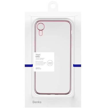 Чехол для iPhone XR Electroplating - розовое золото, фото №2