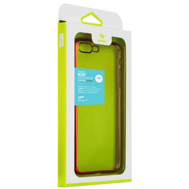 Чехол для iPhone 7 Plus Electroplating Красный, фото №1