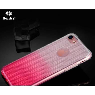 Benks блестящий градиентный чехол для iPhone 7/8 розовый, фото №1