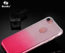 Benks блестящий градиентный чехол для iPhone 7/8 розовый