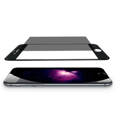 Benks Приватное затемняющее стекло для iPhone 6 Plus | 6S Plus Черное 3D, фото №8