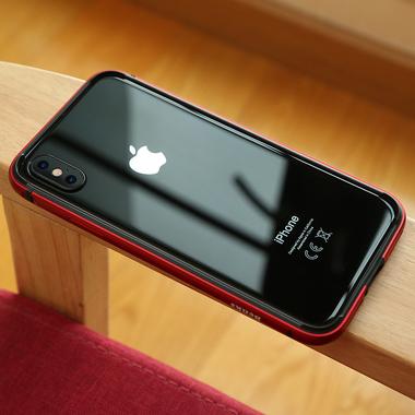 Benks бампер для iPhone X - красный Aegis, фото №1