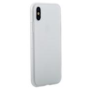 Benks Чехол для iPhone X полупрозрачный белый Pudding
