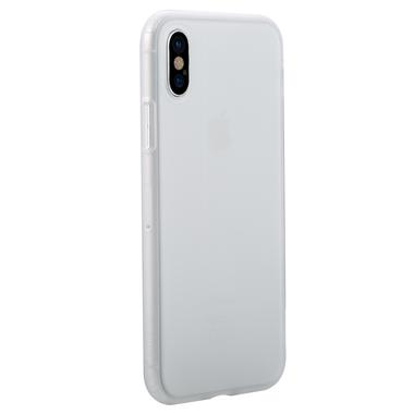 Benks Чехол для iPhone X полупрозрачный белый Pudding, фото №1