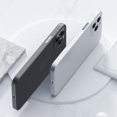 Чехол для iPhone 12 Pro Max 0,4 mm LolliPop черный, фото №2